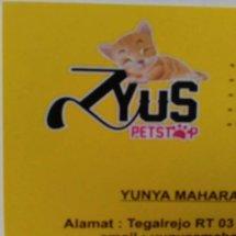 Logo ZYUS PETSTOP