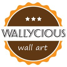 Wallycious Wall Art