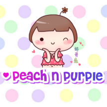 Peach N Purple
