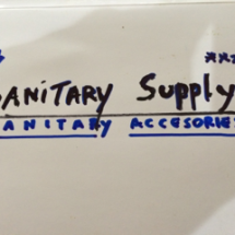 Sanitary Supply
