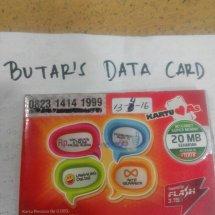 Butar's Data Card
