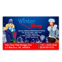 Winter Shop
