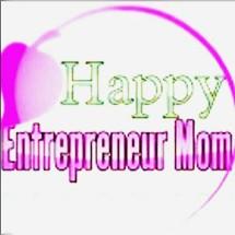 Happy Entrepreneur Mom