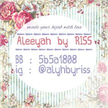 Aleeyah By RISS