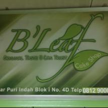 B'leaf snack shop