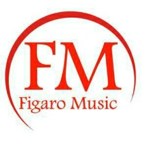 Logo figaro music shop