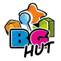 Logo Boardgame Hut