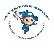 Logo Aviation Shop Indonesia