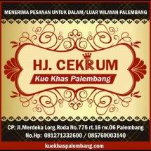 Kue Khas Palembang Hj Cek Rum