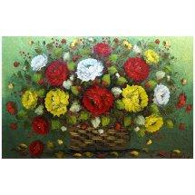 Lukisan Bunga Simple