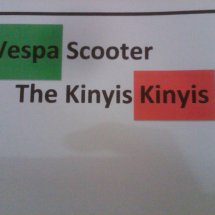 Vscoot the Kinyis-kinyis