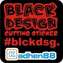 Blackdesign Sticker