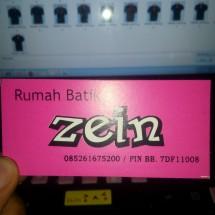Rumah Batik Zein (RBZ)
