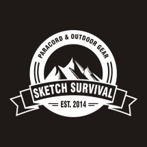 Logo Sketch Survival