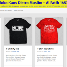 Kaos Muslim AlFatih 1453
