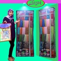 lemari jilbab zahara