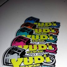 yudi sticker motor