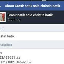 christin batik dua