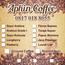 Kedai kopi - Gayo