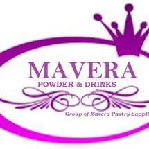 Logo MAVERA POWDER and DRINKS
