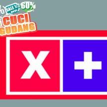 Cuci Gudang X-Plus Logo