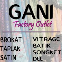 Logo Gani Factory Outlet