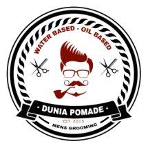 Dunia pomade & Lukisan Logo