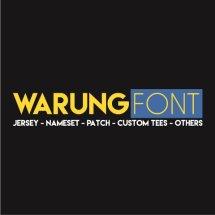 Logo WARUNG FONT