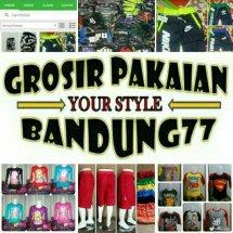 Logo Grosir Pakaian Bandung77