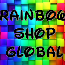 Logo rainbow shop global