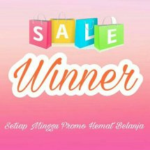 Logo winner shopping