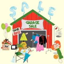 garage sale must go