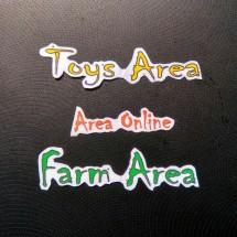 Logo Farm and Toys Area