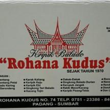 Logo KRIPIK  ROHANA KUDUS