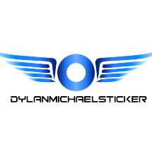Logo Dylan Michael Sticker