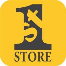 "Logo "" 1st Store """