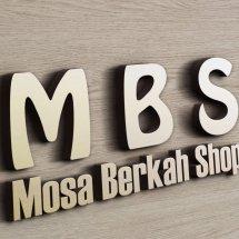 Logo Mosa Berkah Shop