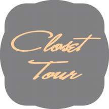 Logo closet tour