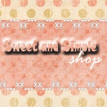 Sweet and Simple Shop