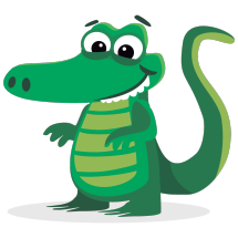 Crocodile Pantofel