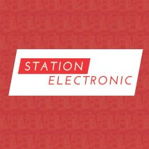 Logo station electronic
