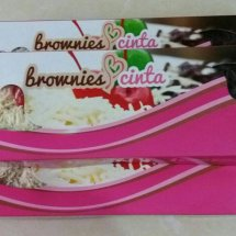 brownies cinta & cake