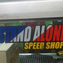 Stand alone Speed shop