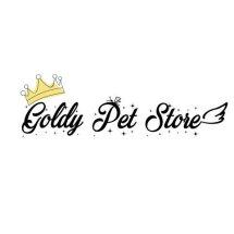 Goldy Pet Store Logo