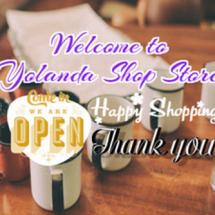 Yolanda Shop Store Logo