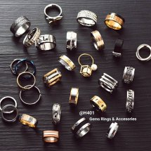 @H401 Rings & Accesories