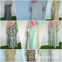 Orchid Gamis by BIVIBSY