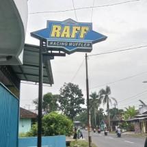 RAFF RACING MUFFLER