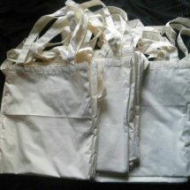 2nd stuff&plain totebag