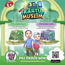 Kartu Muslim Anak 3D AR